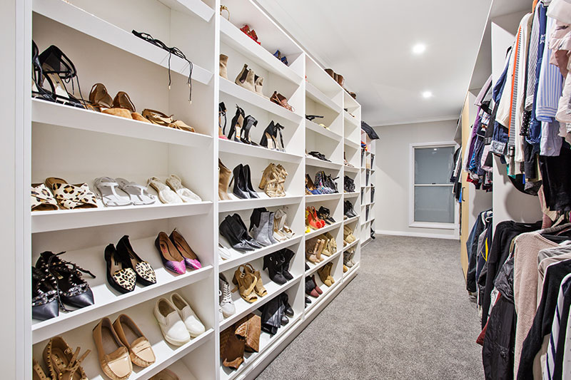 shoes and clothes wardrobe